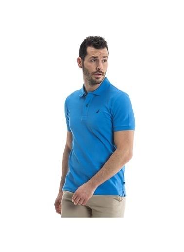 Nautica Nautica Mavi T-Shirt Mavi